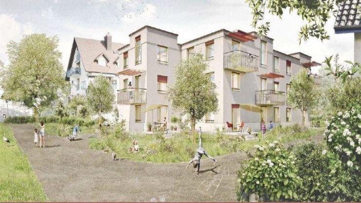 Neubau Schachenweg in Hedingen mit 12 Wohnungen